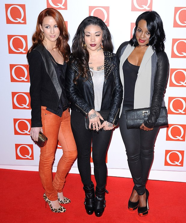 The 2012 Q Awards arrivals: Keisha Buchanan, Mutya Buena and Siobhan Donaghy