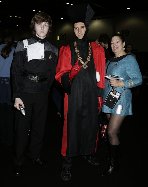 Destination Star Trek fan costumes