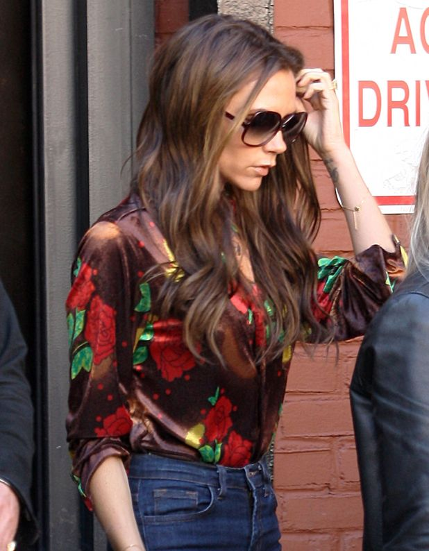 Victoria Beckham out in New York