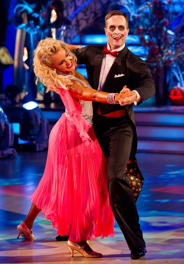 Strictly Come Dancing: Michael and Natalie.