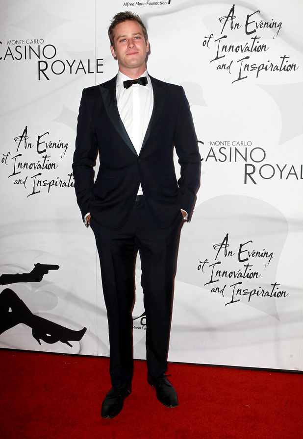 Armie Hammer 9th Annual Alfred Mann Foundation 'Innovation And Inspiration' Gala at The Barker Hanger - ArrivalsSanta Monica, California