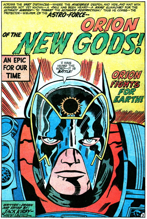Orion New Gods