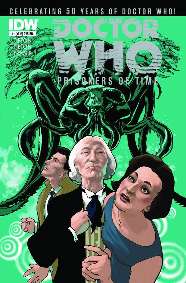 'Doctor Who: Prisoners of Time' cover