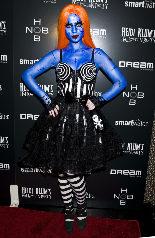Best celebrity Halloween Costumes 2012 in pictures