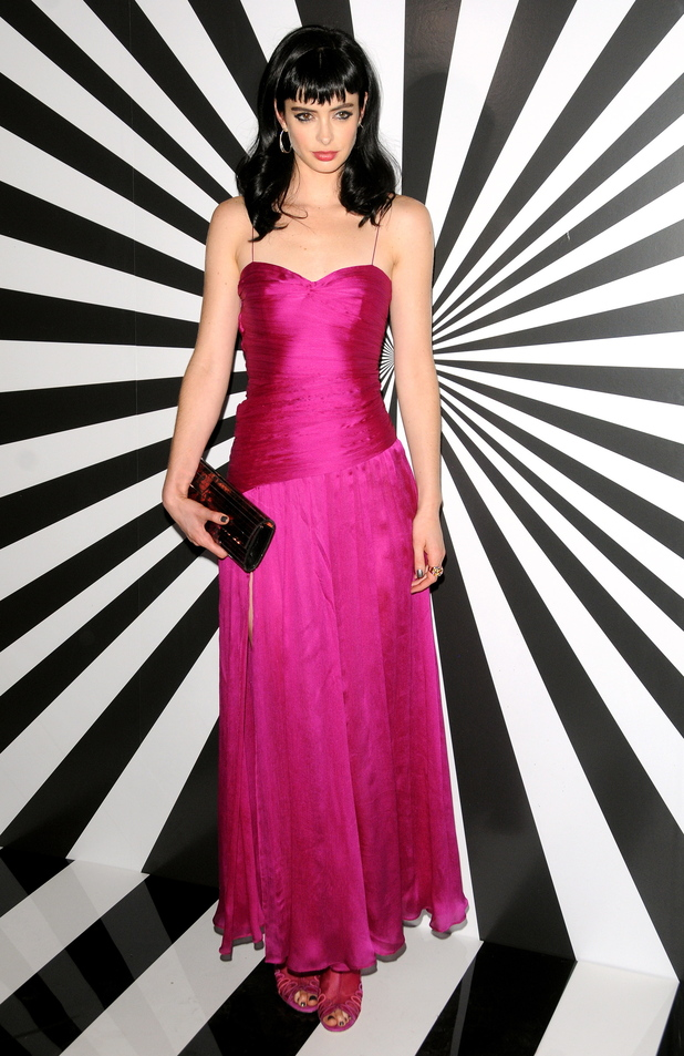 Krysten Ritter Jimmy Choo celebrates the launch of the exclusive collaboration with artist Rob Pruitt held at The Fletcher Sinclair Mansion