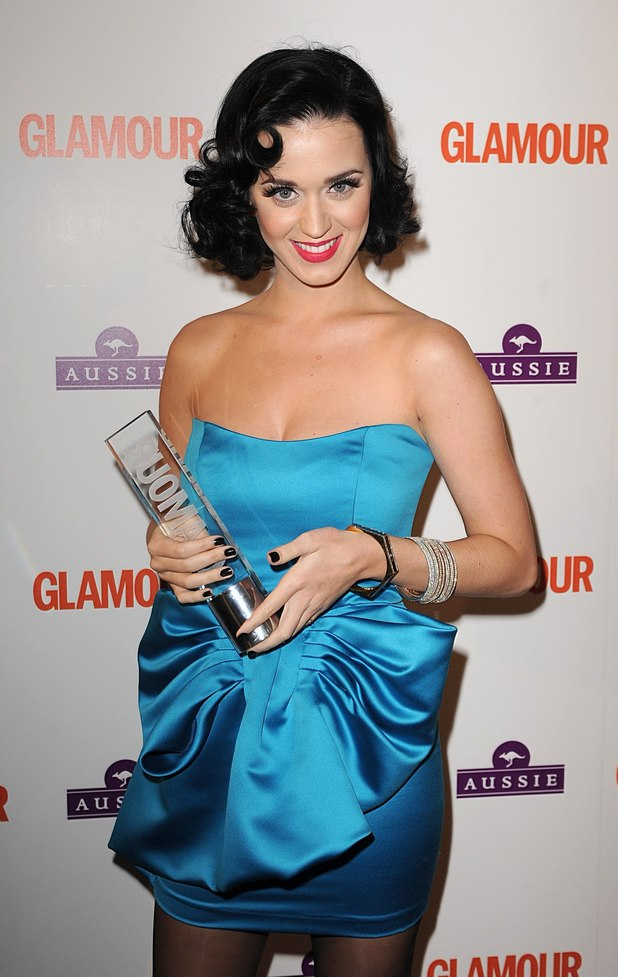 Katy Perry, Aussie Hare Care Newcomer, at the Glamour Woman of the Year Awards 2009