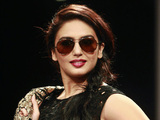 Bollywood actress Huma Qureshi - Lakme Fashion Week, August 2012
