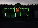 Gangnam Style halloween lights (screencap)