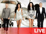 The X Factor 2012: Gary Barlow, Nicole Scherzinger, Tulisa and Louis Walsh