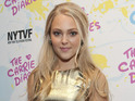 "Anna Sophia Robb says encouragement from predecessor ""made [her] feel good""."
