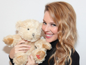 The bear is up for auction along with teddies from other stars.