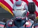 Iron Man 3's latest pictures offer up the first look at Iron Patriot.