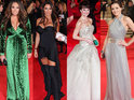 Bérénice Marlohe looks glamorous, while Katie Price suffers a fashion fail.