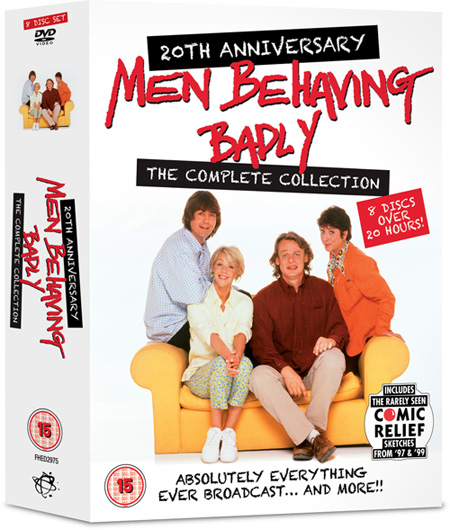'Men Behaving Badly' 20th Anniversary collection boxset