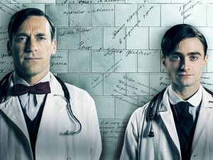 John Hamm and Daniel Radcliffe in &#39;A Young Doctor&#39;s Notebook&#39;