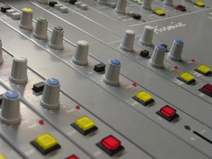 Radio studio controls