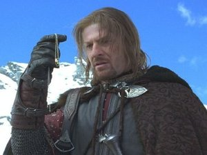 Sean Bean in 'Lord Of The Rings: The Fellowship of The Ring'