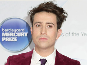 Nick Grimshaw arriving for the Mercury Prize, at the Roundhouse in Camden, north London.
