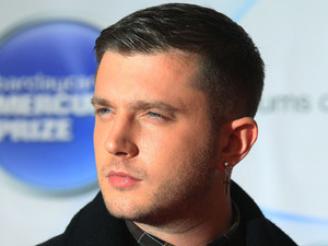 Ben Drew, also known as Plan B, arriving for the Mercury Prize, at the Roundhouse in Camden, north London.