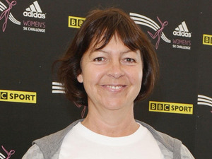 Tessa Peake-Jones at the Adidas Women&#39;s 5k Challenge, in Hyde Park, London.
