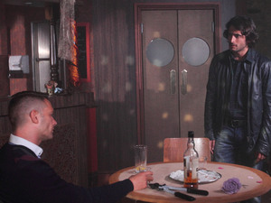 Syed and Christian are tricked into meeting at the Argee Bahjee.