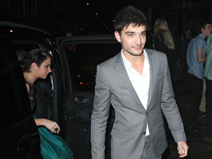 Tom Parker leaving Mahiki nightclub London, England  - 30.10.12 Mandatory Credit: Spiller/WENN.com