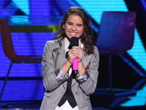 The X Factor USA season 2, live show 1: Carly Rose Sonenclar