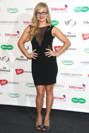 Tina O'Brien Specsavers Spectacle Wearer of the Year 2012 held at Battersea Power Station - Arrivals London, England