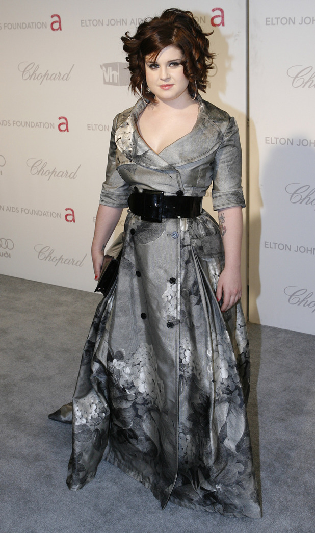 Kelly Osbourne arrives at the 16th annual Elton John AIDS Foundation viewing party to celebrate the 79th Academy Awards