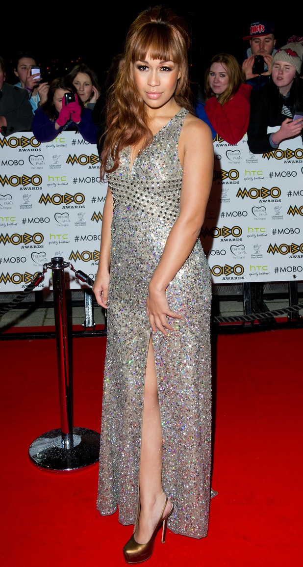 The MOBO Awards 2012: Rebecca Ferguson