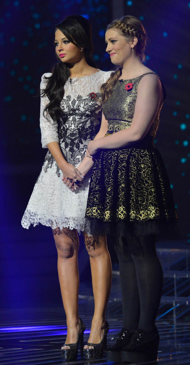 Tulisa and Ella Henderson