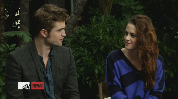 MTV interview - November 1, 2012