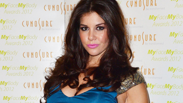 "Imogen Thomas at the ""My Face My Body"" awards at the Landmark Hotel."