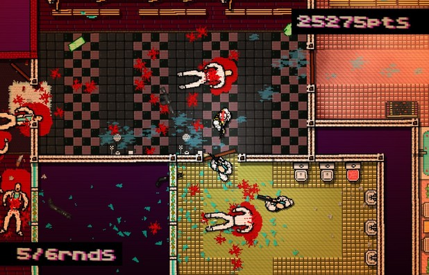 'Hotline Miami' screenshot