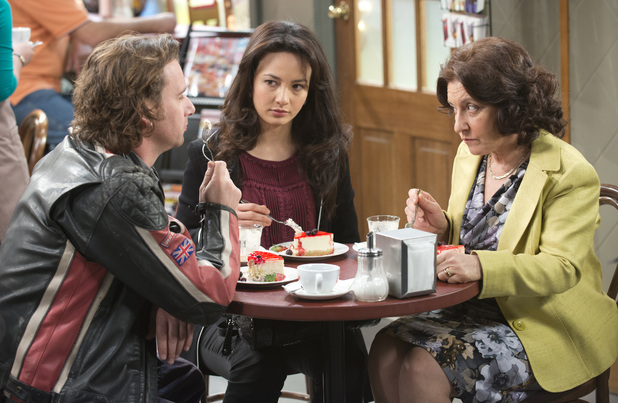 Vanessa is caught between Lucas and her mother.