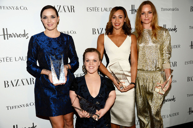 Harper's Bazaar Woman of the Year Awards 2012: Victoria Pendleton, Eleanor Simmonds, Jessica Ennis and Stella McCartney