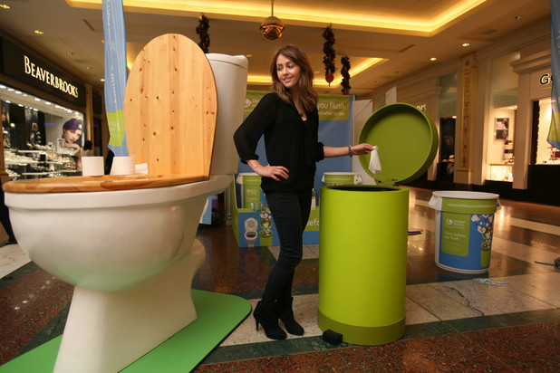 Samia Ghadie, Think You Before You Flush campaign