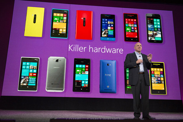 Windows Phone 8 launch: Steve Ballmer Discusses Features on Windows Phone 8