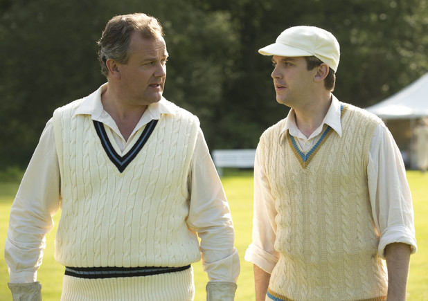 Lord Grantham and Matthew Crawley