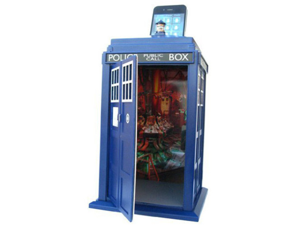 Doctor Who TARDIS Smart Safe