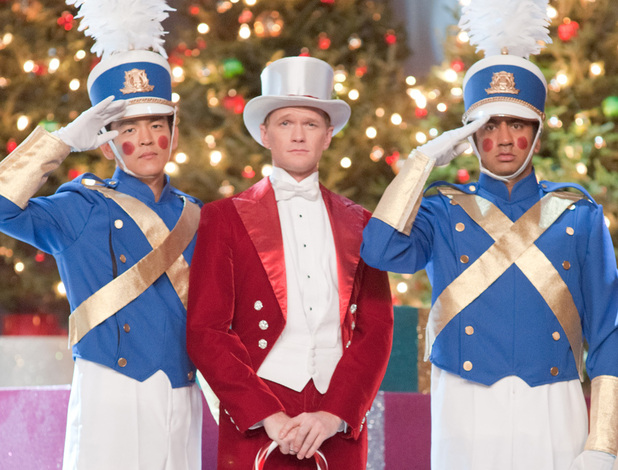 'A Very Harold and Kumar (3D) Christmas' still, John Cho, Kal Penn, Neil Patrick Harris