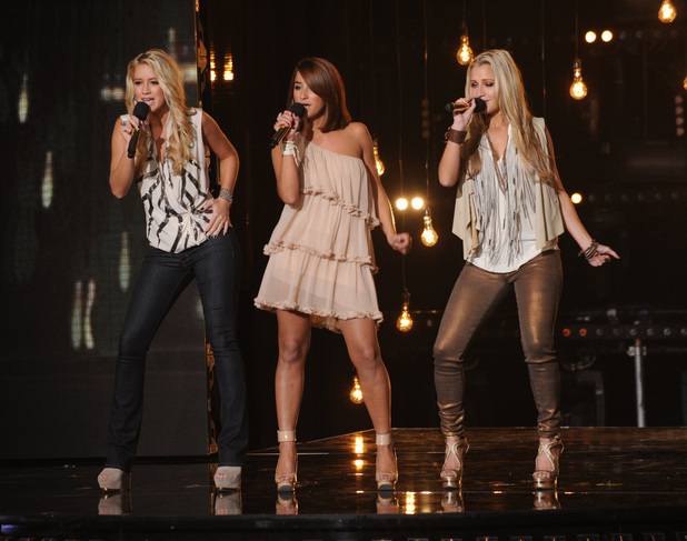 The X Factor USA season 2, live show 1: Sister C