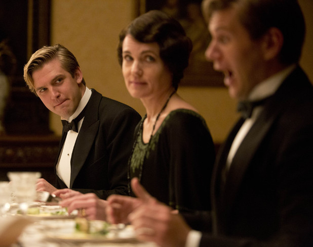 Matthew Crawley, Lady Grantham and Tom Branson