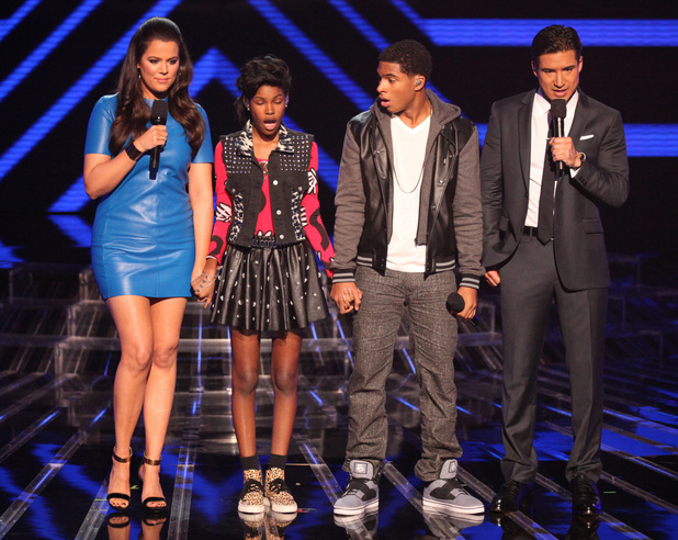 'The X Factor' USA TX Nov 1 - Diamond White is eliminated