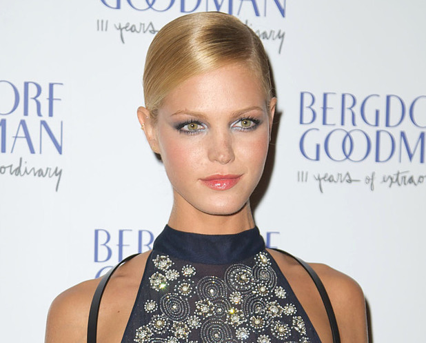 Erin Heatherton attends the Bergdorf Goodman 111th Anniversary event New York City, USA 18.10.12 Mandatory Credit: Alberto Reyes/WENN.com