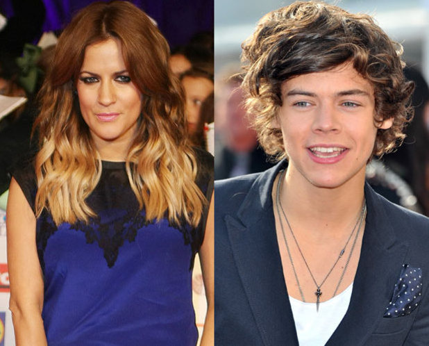 Caroline Flack, Harry Styles, X Factor 2010