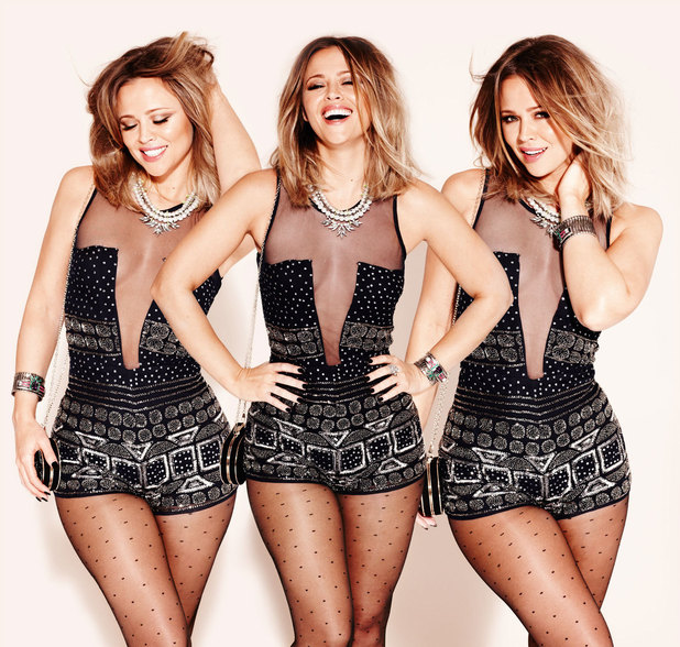 Kimberley Walsh photo shoot for Look Magazine
