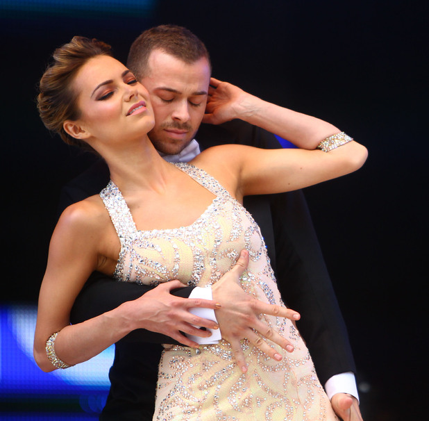 Artem Chigvintsev and Kara Tointon Jubilee Family Festival at Hyde Park London, England