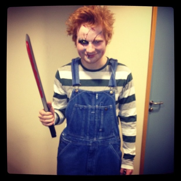 Ed Sheeran, Halloween, twitter