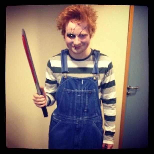 Ed Sheeran, Halloween, twitter